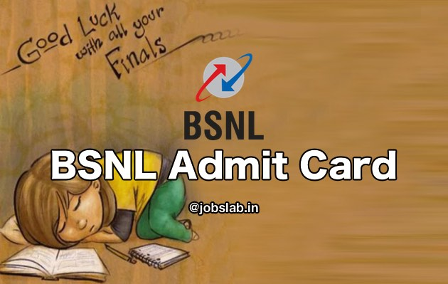 BSNL Admit Card 2016 Download BSNL Junior Engineer (JE) Hall Ticket