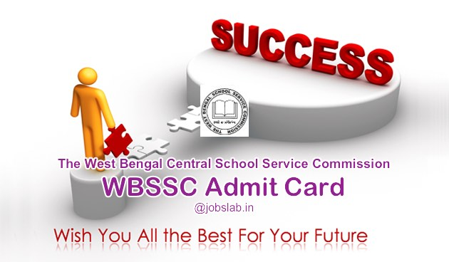 WBSSC Admit Card 2016 Download Hall Ticket for 4923 Clerk & Group D Posts
