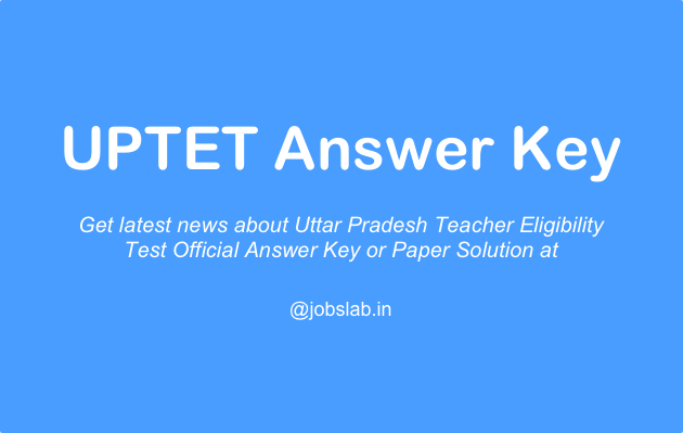 uptet-answer-key
