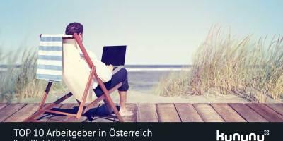 TOP 10 Arbeitgeber in Österreich