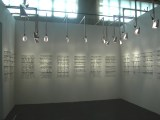 Abecedarian Installation View