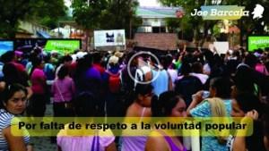 Inician las marchas del IEEM al INE y FEPADE debido a la negativa de abrir paquetes (Vídeo)
