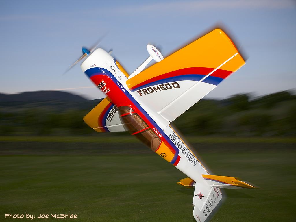 "Aeroworks 104"" Yak 54 Build Review"