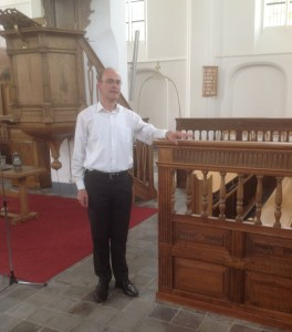 Dutch Organist, Harm Hoeve