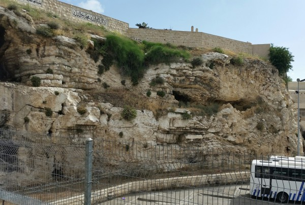 Possible Location of Christ's Crucifixion
