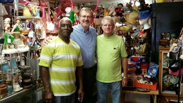 Jackson Antique Shop with Two Widowers