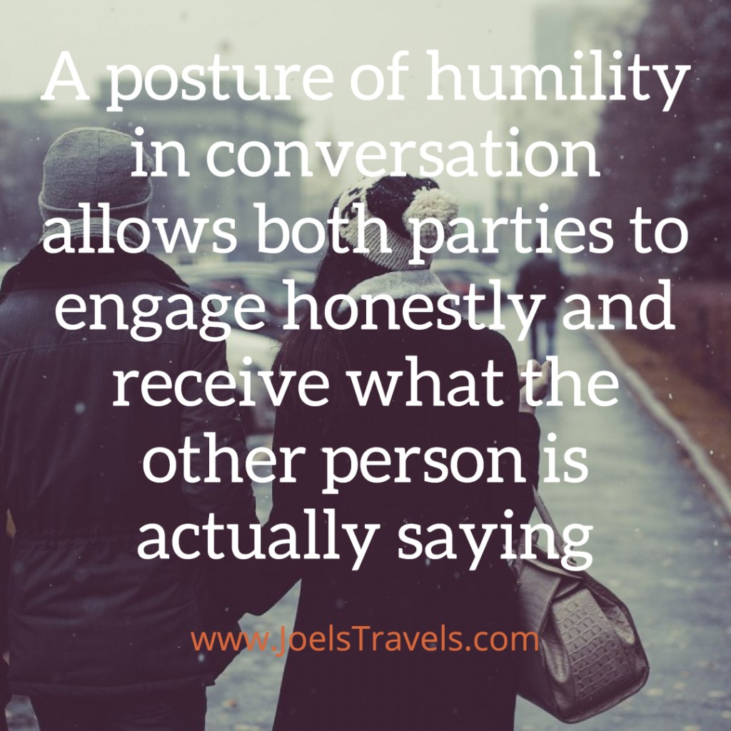 Posture Of Humility