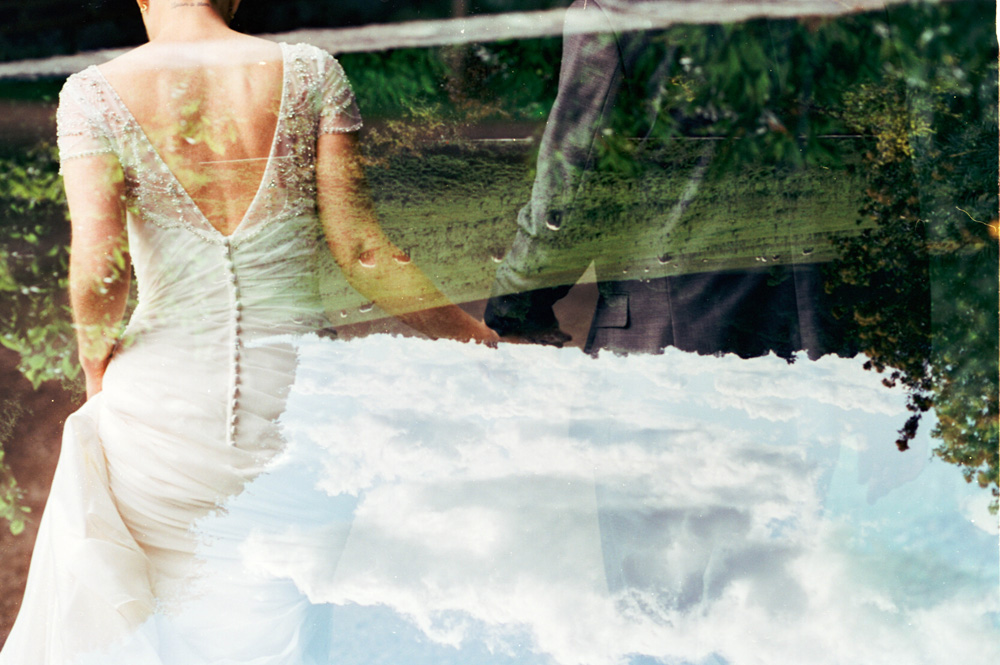 Double Exposure Wedding Photography