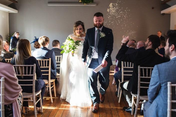 Newly weds - Wedding Photographer Manchester