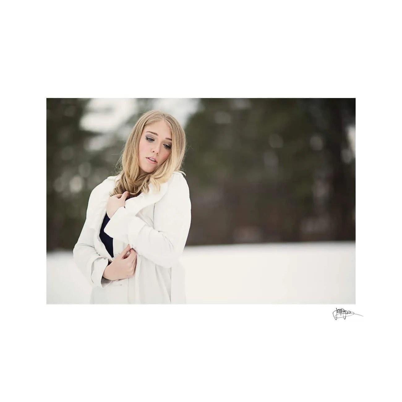raleigh portrait photographer white on white