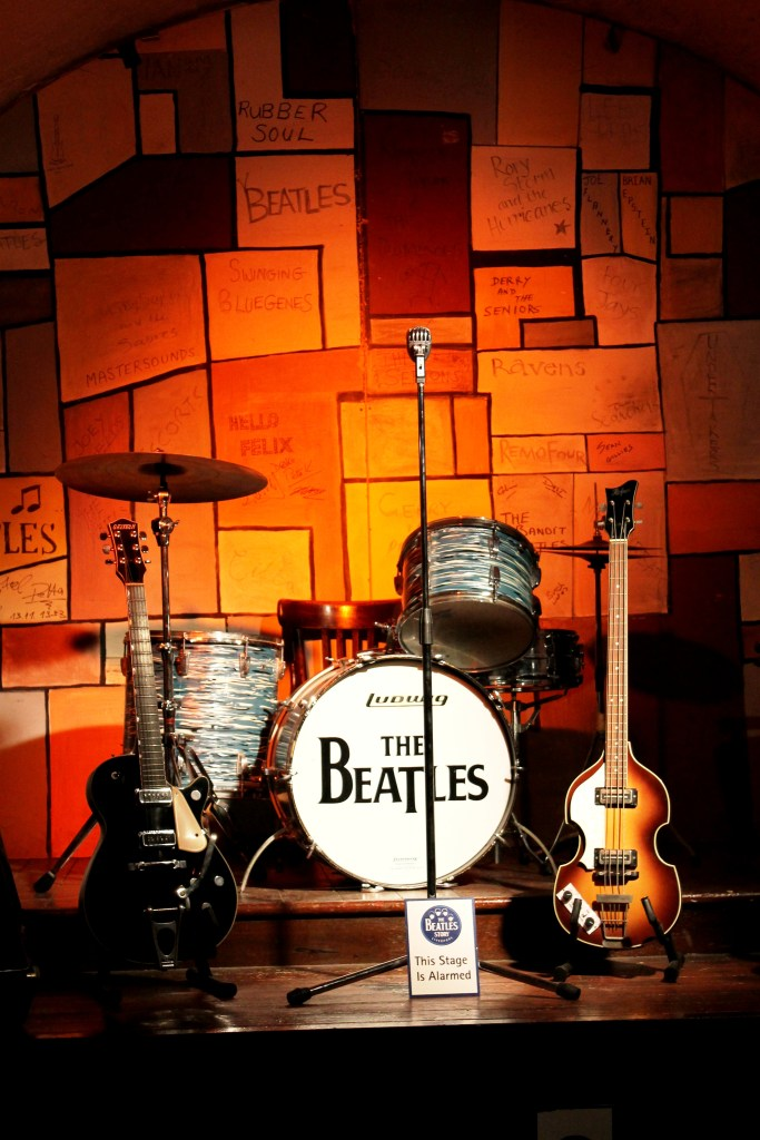 Beatles stage at Beatles Story Liverpool