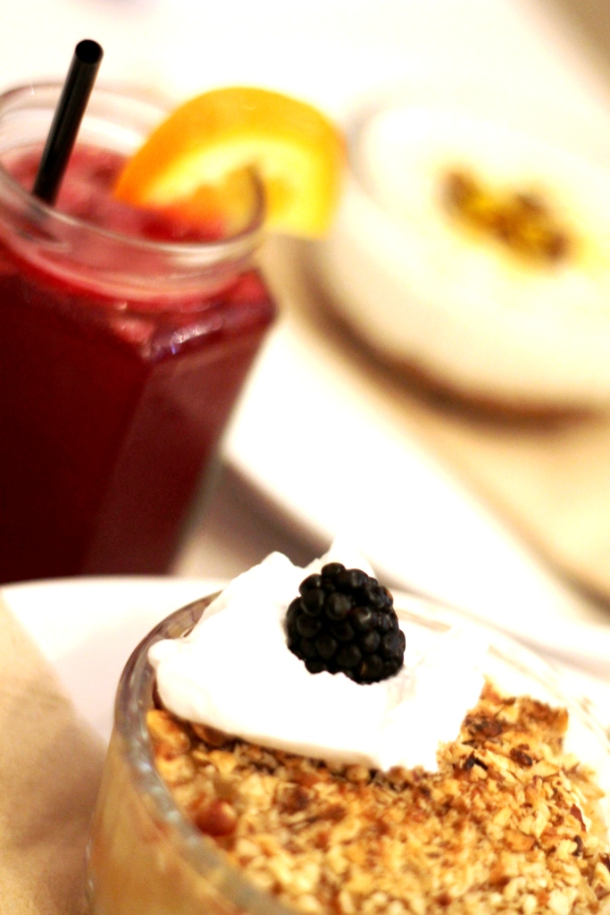 mocktails and desserts at Redemption London