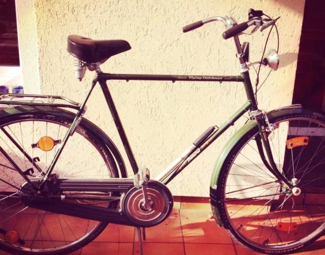 Habe wieder ein Fahrrad
