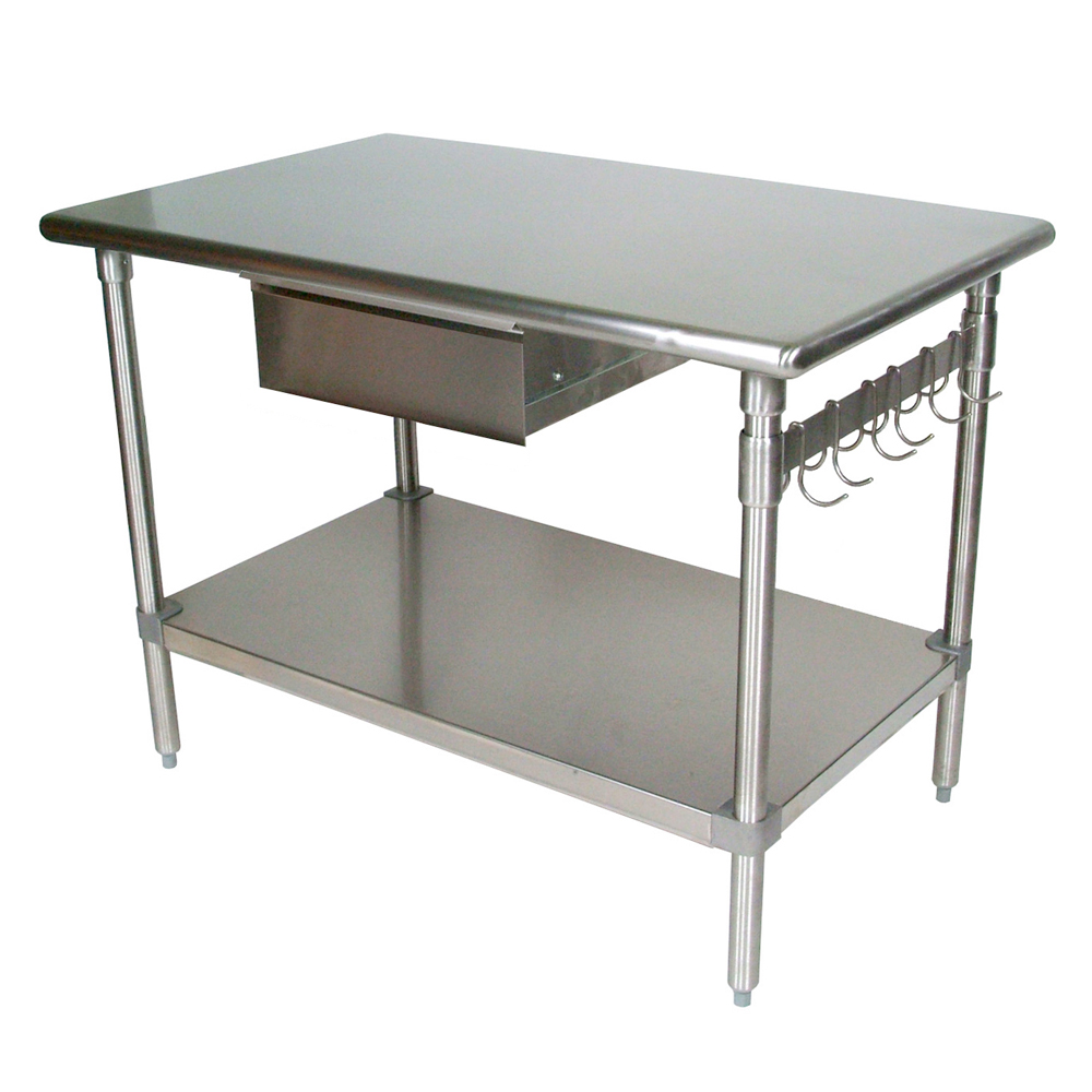 Items page stainless steel kitchen table Boos Blocks BS AS D Cucina Forte Kitchen Work Table Stainless Steel Top