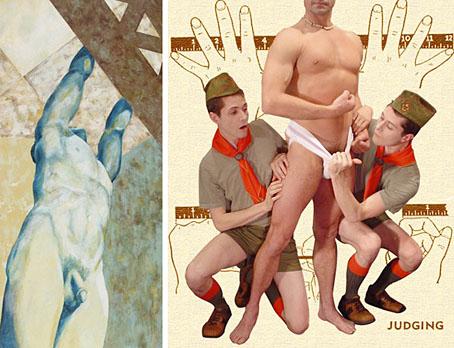 gay boy art drawings