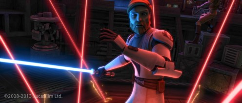 Obi-Wan Kenobi: Model, Face Blendshape Library, UVs