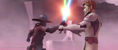 Obi-Wan Kenobi: Model, Face Blendshape Library, UVs / Cad Bane: Model, Face Blendshape Library, UVs