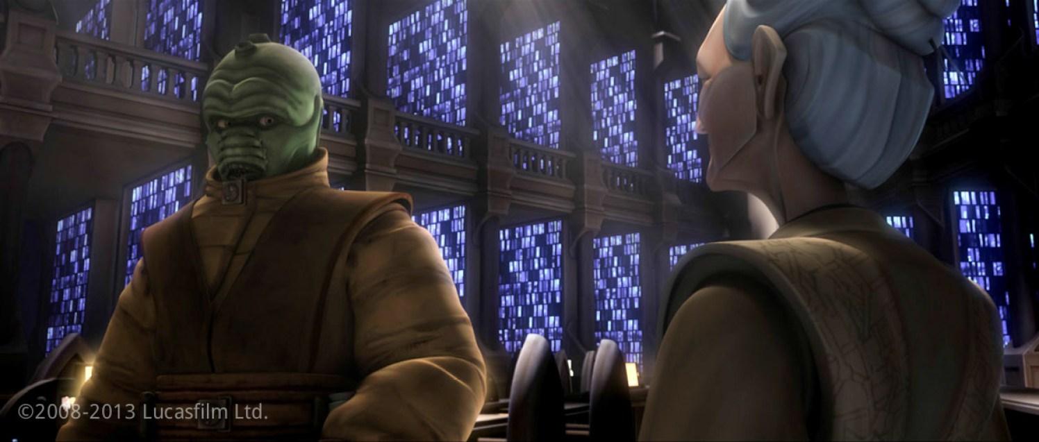 Jedi Master Ord Enisence: Model, Face Blendshape Library