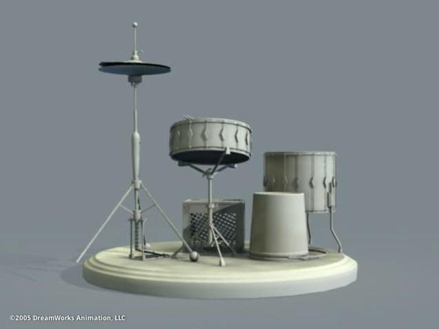 Drum Set: Model