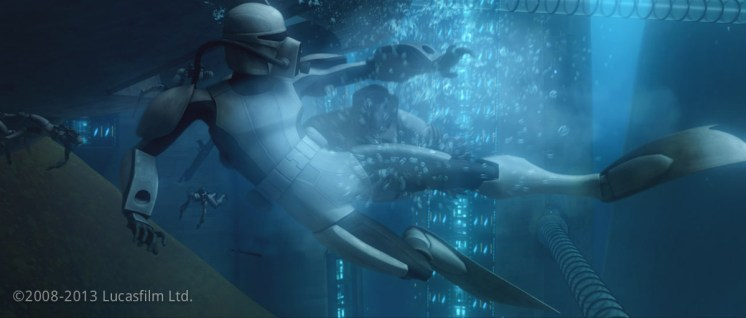 Clone Scuba Armor: Model