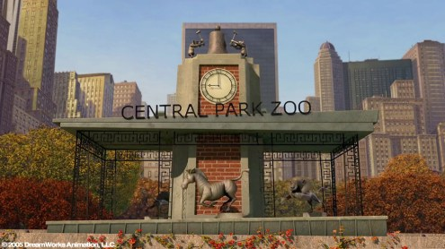 Central Park Zoo Entrance: Building Exterior Model and Maya Paint Effects
