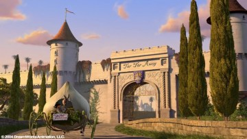 Far Far Away Entrance: Wall, Towers and Gate Models