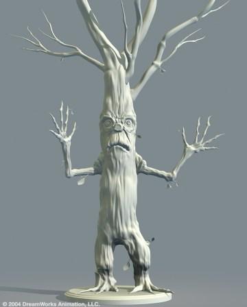 Evil Tree: Model