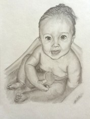 Commissioned Baby Drawing