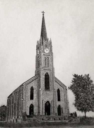 Church Drawing