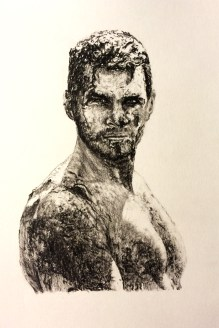 Commissioned Muddy Portrait Drawing