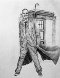 Commissioned Dr. Who Drawing