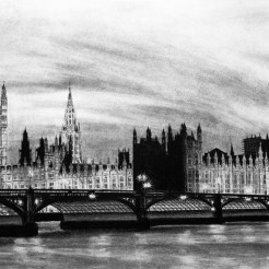 Westminster Palace Drawing