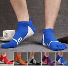 5 Pairs Men Cotton Five Finger Toe Socks Lot Ankle Casual Sports Low Cut 7-10