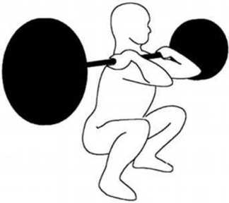 front squat