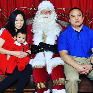 Santa photo 2015 complete Now I can get out ofhellip