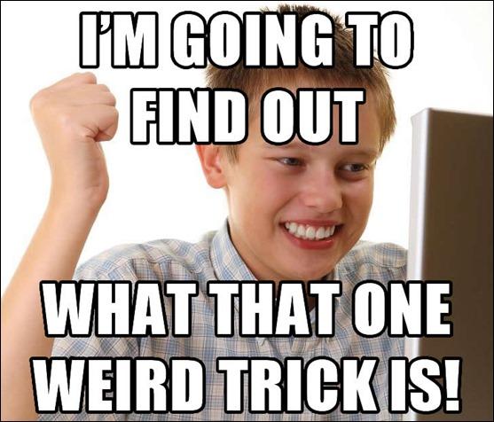 one-weird-trick