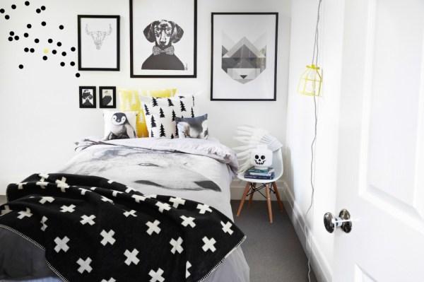 Chambre jaune et noir ~ tout à propos de la maison