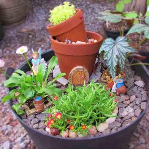 Medium Crop Of Make Your Own Fairy Garden