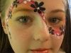 flowers mask face