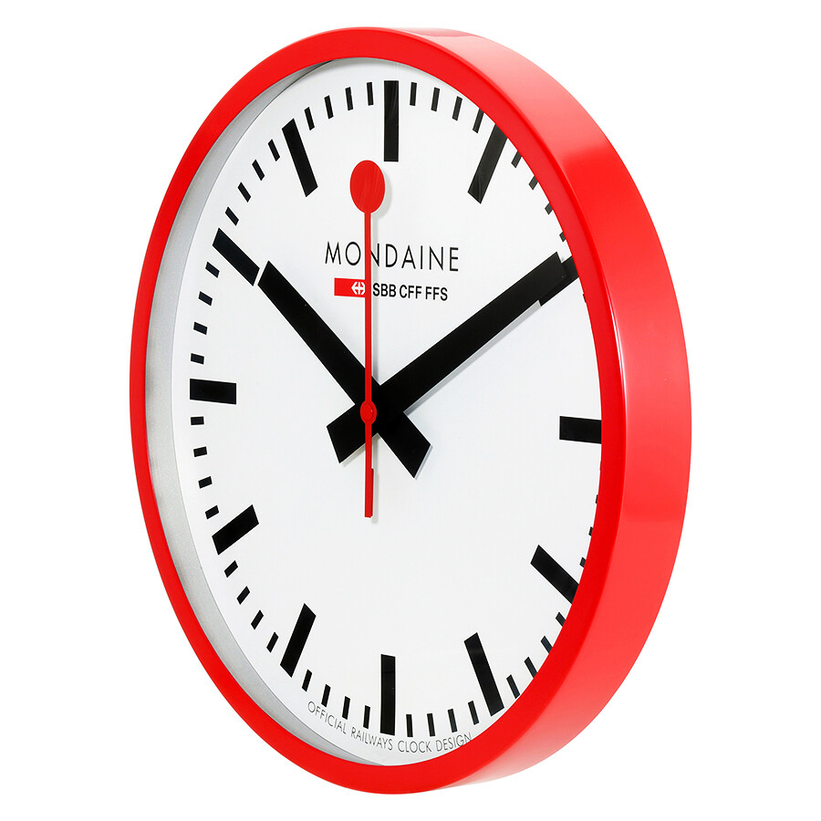 Fullsize Of Large Red Wall Clocks