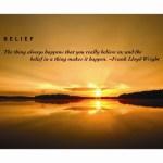 Core Beliefs of Mine