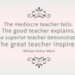 What Teaching Taught Me