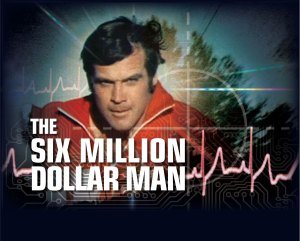 The Six Million Dollar Man 70s tv