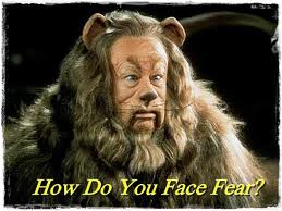 I do not want to be a cowardly lion.