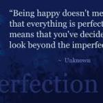The Courage to be Imperfect