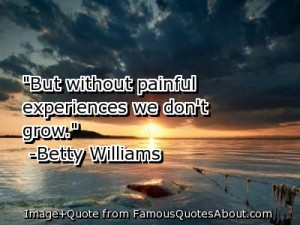 painful experiences