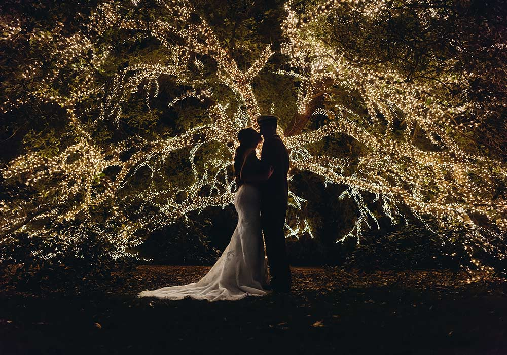 The Houstonian Hotel Tree Lights Photographer
