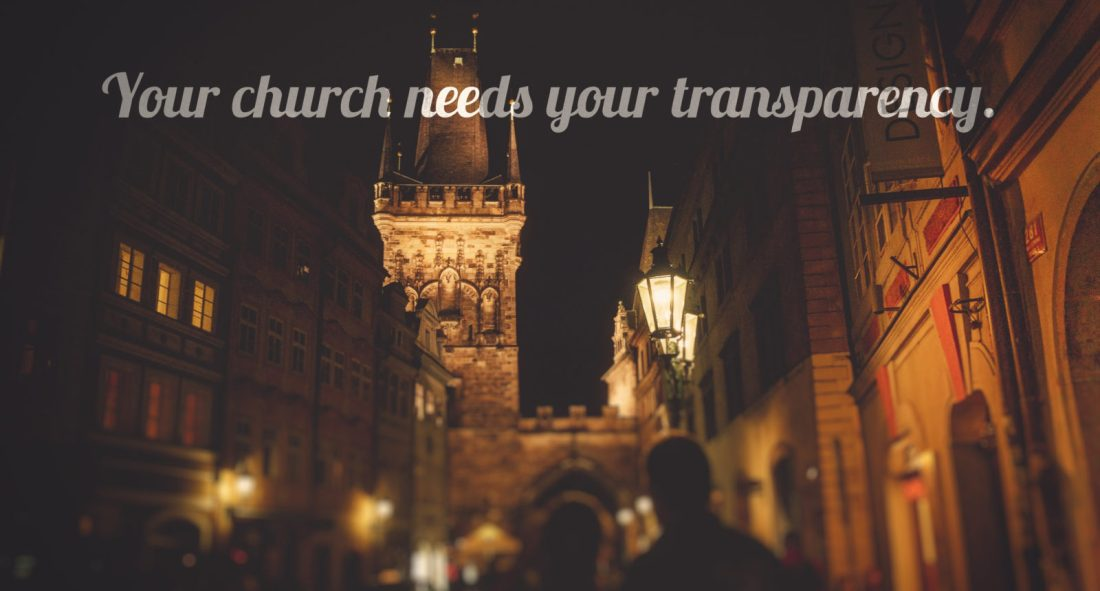 your church needs you