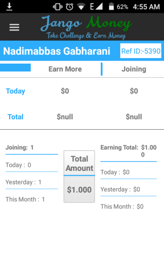 jango money referral id