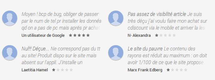 Derniers-commentaires-application-cdiscount